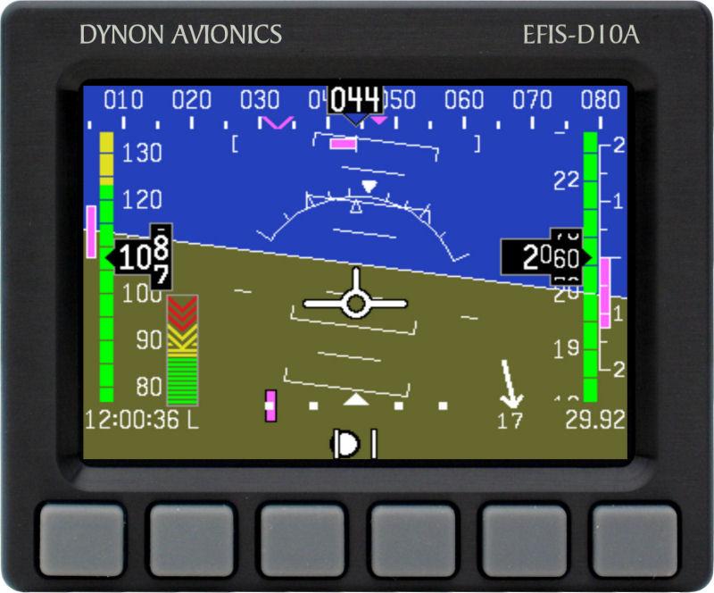 Dynon Avionics | Flight Instruments | EFIS-D10A
