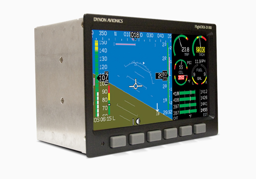 The FlightDEK-D180 represents a new class of avionics that combines all EFIS and Engine Monitoring functions into a single, very powerful instrument.