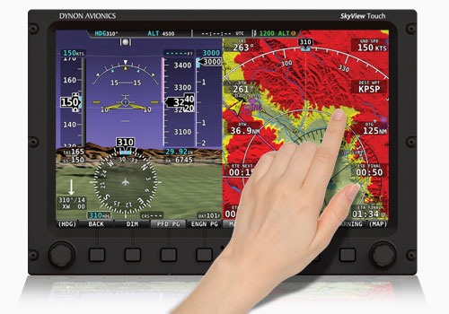 The breakthrough, best-selling SkyView Touch system set the standard for marrying intuitive touchscreen control with a full set of hard, tactile controls for use in turbulence.