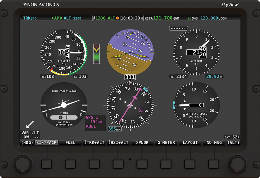 Dynon Avionics Latest Skyview Features