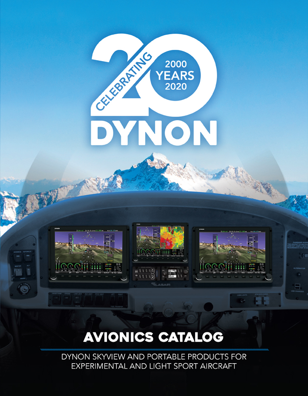 View or Download The Dynon Avionics Catalog For Experimental Aircraft